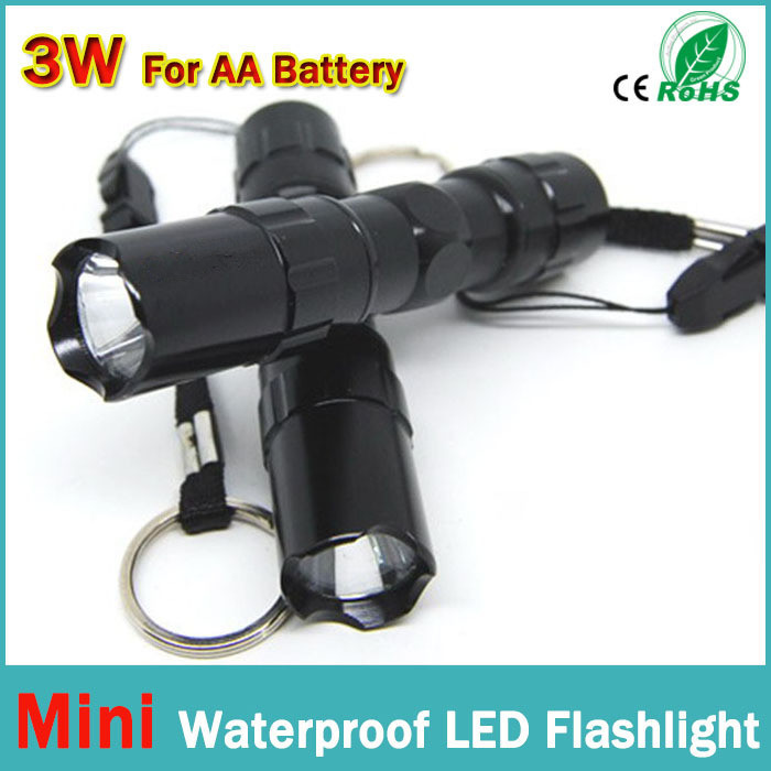 Promotion 90% off: The best quality mini LED Flashlight! Strong Lanterna Torch light Waterproof lantern penlight bike light(China (Mainland))
