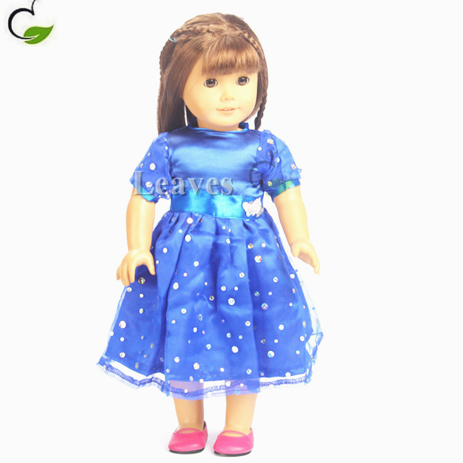 18 Inch Doll Clothes American Girl Princess Dresses