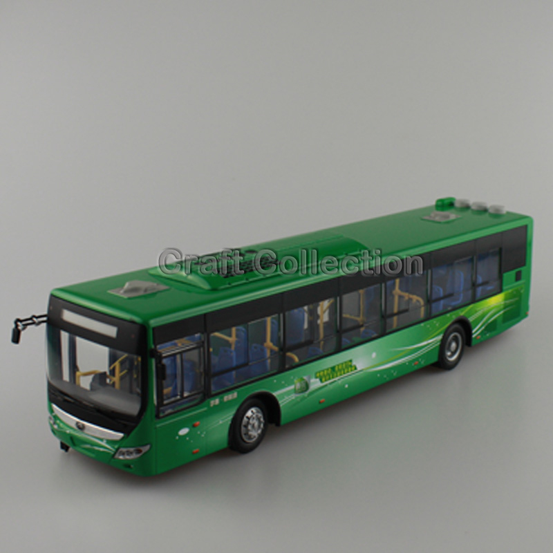 1:43 Yutong ZK6125CHVPG4 Rectrl Hybrid Electric City Bus High Simulation Alloy Toy Bus Models Passenger Station Wagon Diecast(China (Mainland))