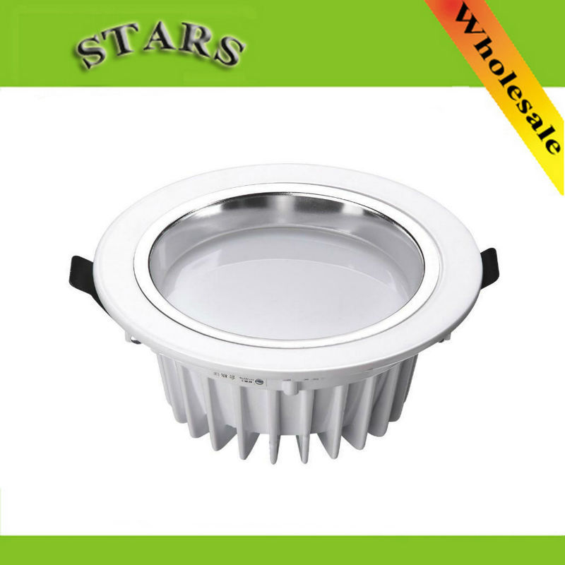 7w led downlight dimmable led down light bulb lighting recessed 20pcs. Black Bedroom Furniture Sets. Home Design Ideas