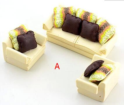 Clay model sofa / indoor sandbox / model furniture sofa / DIY production / interior design sets(China (Mainland))