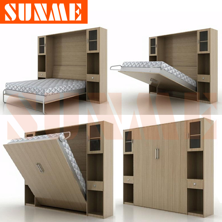 Murphy bed folding bed wall bed murphy bed sunme ka5 - Bunk beds that fold into wall ...