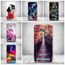 Case ASUS ZenFone 2 Laser ZE500KL Printing Back Silicon Cover Funda Asus Phone Capa Soft TPU Bag - Graceful Store store