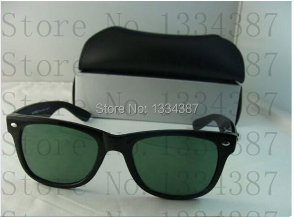 Men Women's rb 2140 Wayfarer Sunglasses UV protection Shades Lens Black WHITE RED Frame Fashion Glass Eyeglasses 50mm 54mm(China (Mainland))
