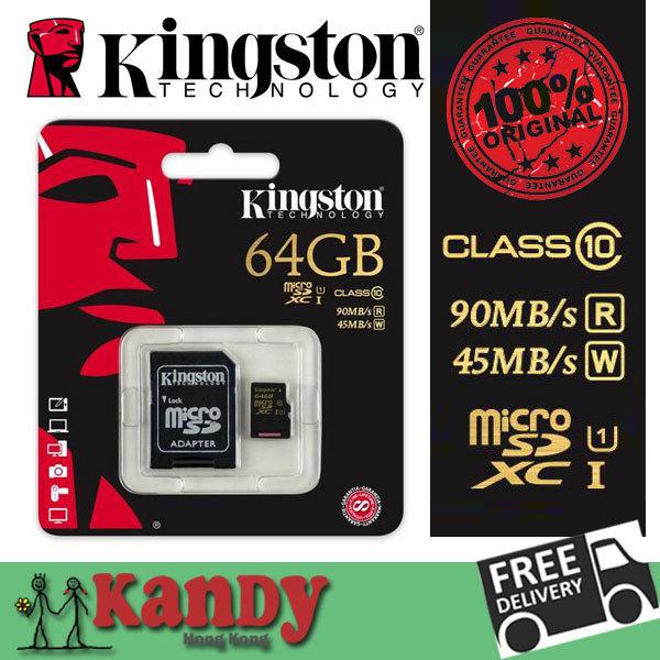 Kingston micro sd uhs 1 tarjeta memoria gopro hero 4 xc hc sdhc sdxc memory card 16gb 32gb 64gb class 10 UHS-I cartao de scheda(China (Mainland))