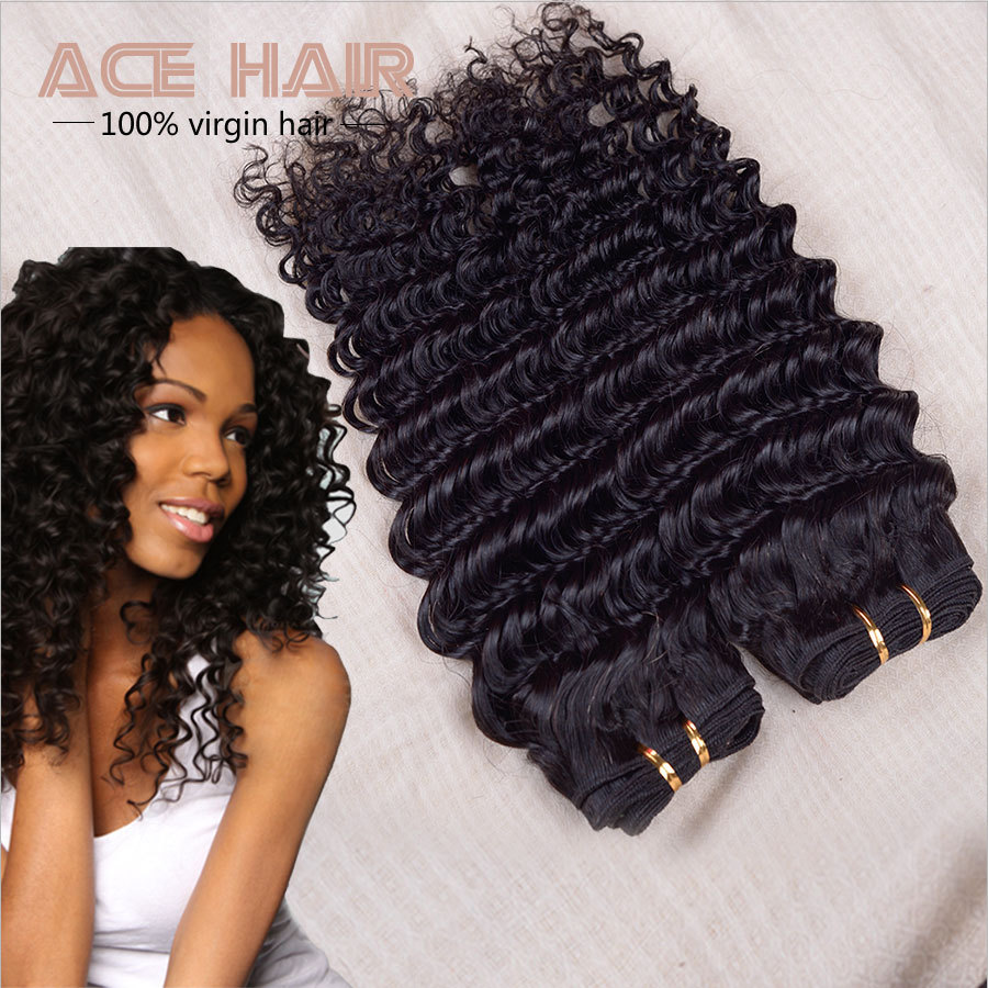 Indian Curly Virgin Hair Virgin Indian Deep Curly Hair Indian Curly Weave 3pcs,Remy Human Hair Indian Remy Wet And Wavy