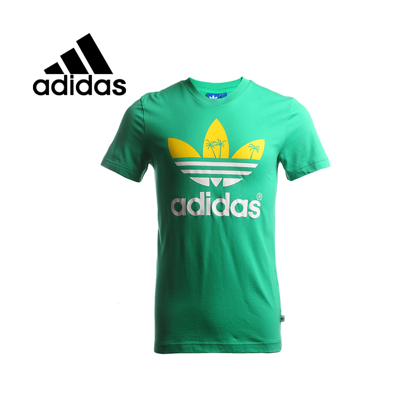 100% Original 2015 New Adidas Originals mens knitted T-shirts S19314 tennis Sportswear free shipping<br><br>Aliexpress