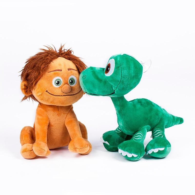2016 New kids toys 22CM Pixar Movie Spot Dinosaur Arlo Plush Doll Stuffed Good Dinosaur Toy(China (Mainland))