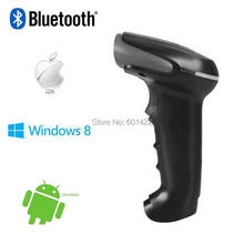 Portable 1D Laser USB Wireless Bluetooth Barcode Scanner Code Reader For Apple IOS Android Windows