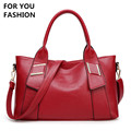 Free Shipping New Women Top handle Bag Soft Leather Handbags Large Capacity Women Bag Zipper Ladies