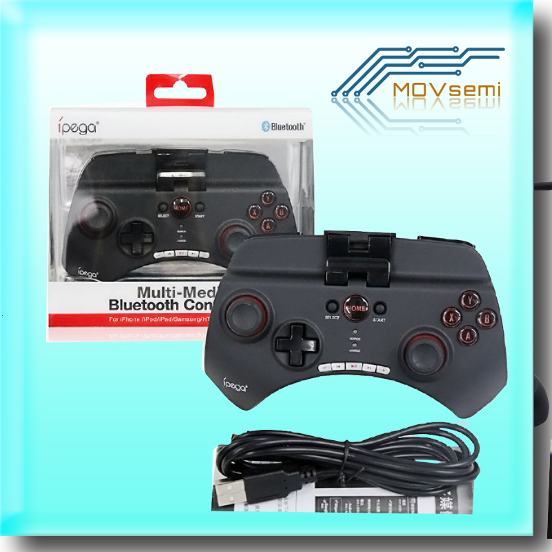 Bluetooth 3.0 Multi Media Wireless iPega Game Controller Joystick Gamepad for Android iOS Cell phone Tablet PC(China (Mainland))
