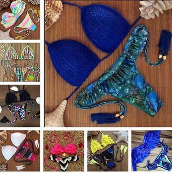2015 треугольник бикини новый сексуальный пляж купальники дамы купальник женщин купальники купальный костюм комплект бикини бразильские майо де бейн