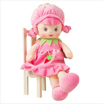 2014 Wholesale Price 35CM 7 Colors Plush Toy Cloth Doll Dolls Child Birthday Gift Toys High Quality Drop FREE SHIPPING<br><br>Aliexpress