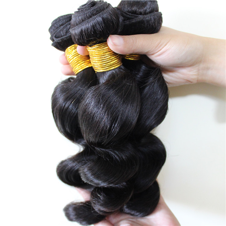 Virgin Peruvian Loose Wave 4pcs Lot 7A Peruvian Virgin Hair Bundles Ali Moda Loose Wave Peruvian Human Hair Paypal Free Shipping