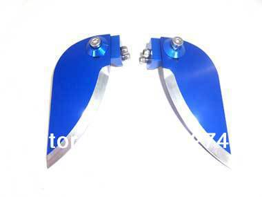 Free shipping Aluminum Adjustable Turn Fin for RC Boats(2PCS)-24*54mm(China (Mainland))