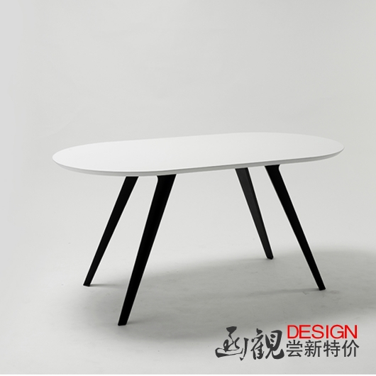 Letter concept creative designer fabrication parlor office furniture fashion simple casual long table complete sea(China (Mainland))