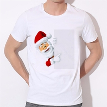 Buy Christmas 3d T-shirt printed Santa Claus tee shirts men/women casual short sleeve clothes DIY can be customized clothing 46-25# for $8.34 in AliExpress store
