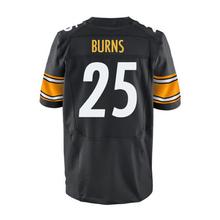 Men's #25 Artie Burns #43 Troy Polamalu Adult 7 Ben Roethlisberger #26 White Black Elite 100% Stitched Free shipping(China (Mainland))
