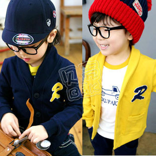 2012 autumn r boys clothing girls clothing baby outerwear wt-0529