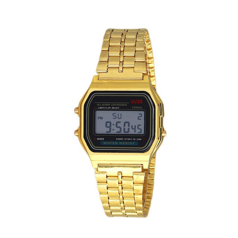 Simple Watch Men Womens Digital Sport Strap Wristwatch For Ladies Dress