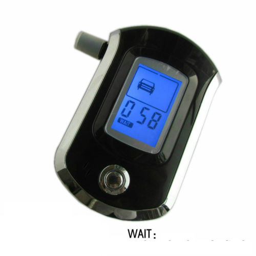 2015 New Professional LCD Digital Breath Alcohol Tester Breathalyser for Police(China (Mainland))