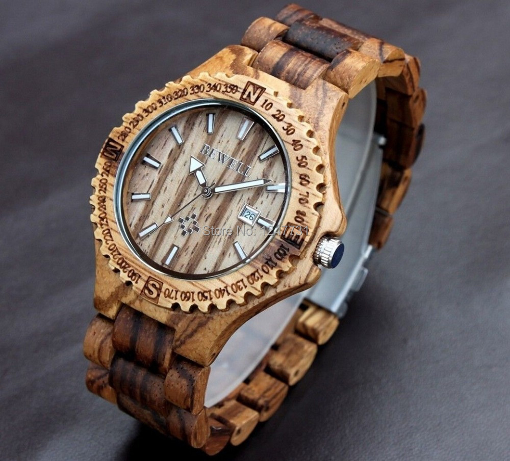 bewell wood for wooden watches s