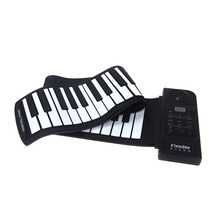 Flexible Piano 61 Keys Electronic Piano Keyboard Silicon Roll Up Piano Sustain Function USB Port with Loud Speaker(China (Mainland))