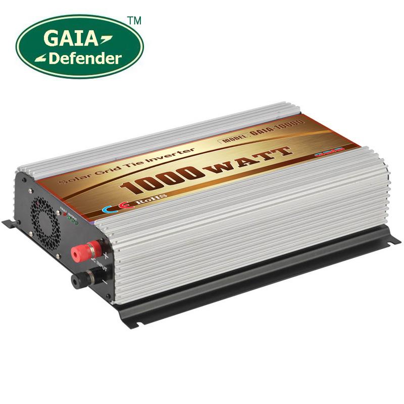 1000W Solar Grid Tie Inverter DC 45V-90V AC 190V-260V for 220V 230V 240V(China (Mainland))