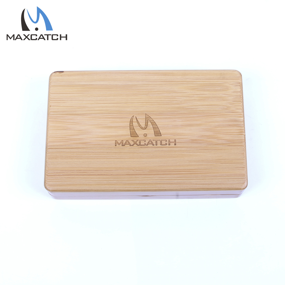 1439438mm natural bamboo fly fishing box slit foam smooth touch wooden fly - Fly Bambou
