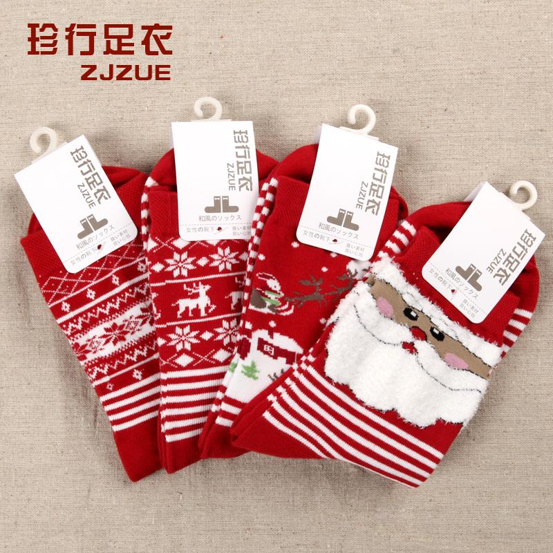 Free shipping christmas gift socks new year