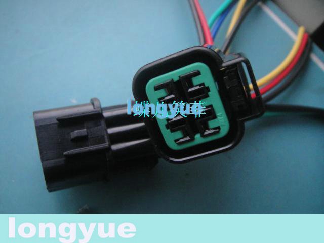 online buy whole 6 pin pigtail connector from 6 pin longyue 10 kit 6 way pin mitsu light socket pigtail headlamp connector harness for hyundai and