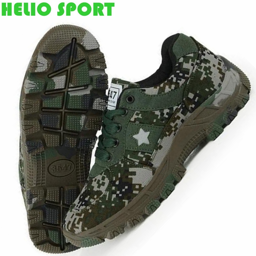 outdoor sports cross country mountain hiking shoes men breathable trekking camouflage Military trainer walking sneakers shoes(China (Mainland))
