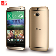 """Original HTC One M8 Unlocked Mobile Phone Quad-core GSM 3G&4G Android RAM 2GB 5.0"""" WIFI GPS 4MP 16GB 3 Cameras free shipping(China (Mainland))"""