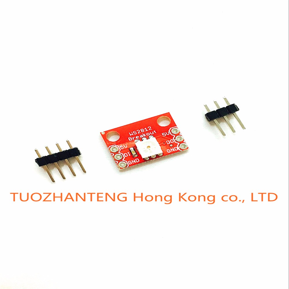 5PCS/LOT New WS2812 RGB LED Breakout module For arduino