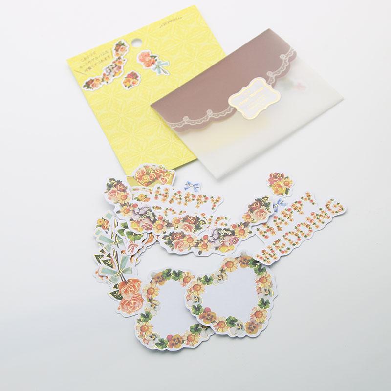 1 Pc / Pack Fashion Vintage European Wedding Deocrative 3d Adhesive Stickers To Diy Gift Photo Album Scrapbooking Craft<br><br>Aliexpress