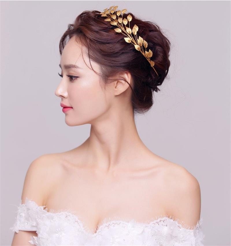 gold leaf baroque crown tiara head jewelry hair. Black Bedroom Furniture Sets. Home Design Ideas