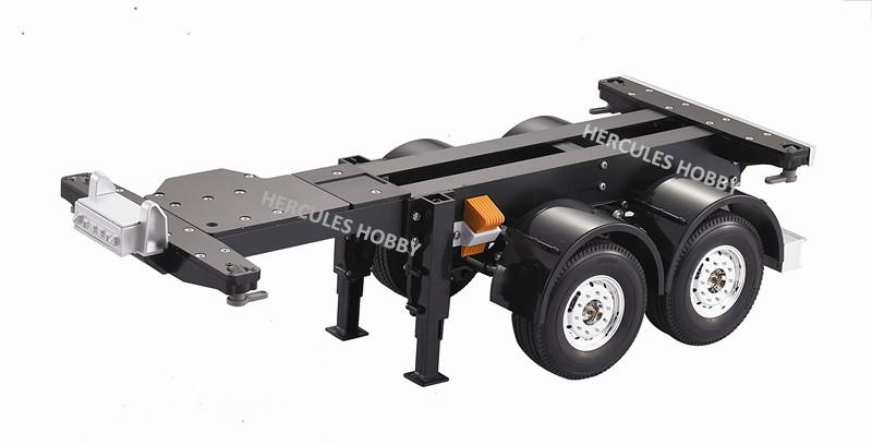[HERCULES HOBBY] TAMIYA Tractor Truck Trailer 1/14 Scale 2 Axle Semi-Trailer 20 Foot Made China - HERCULES HOBBY store