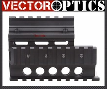 Buy Vector Optics Mini Draco AK Pistol RIS Compact Handguard Quad Rail Mount Short fit AK Black Color Laser Sight Flashlight for $39.99 in AliExpress store