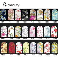 2015 New Flowers Water Transfer Stickers,20sheets/lot Fashion Beauty Full Cover Nail Art Decoration Nail Tips Tools