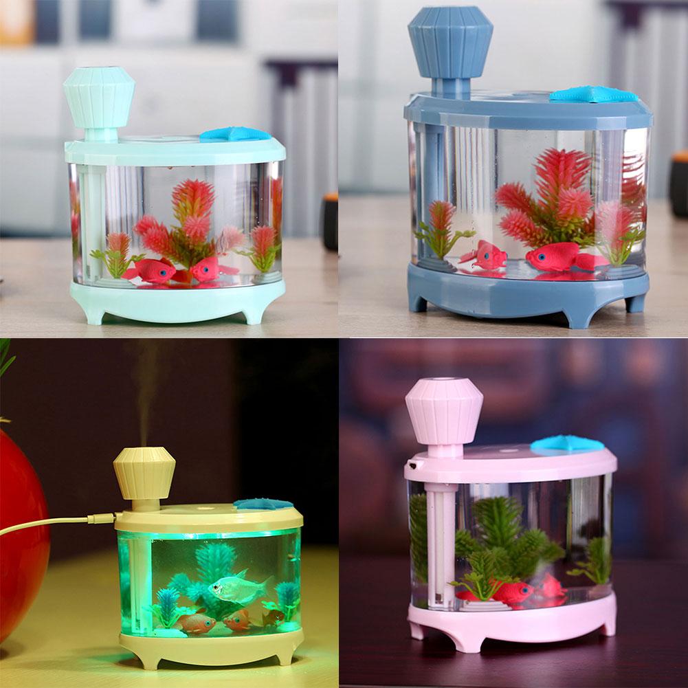 Aquarium fish tank mist maker - Fish Tank Light Humidifier Night Light Ultrasonic Misting Maker Aquarium China Mainland