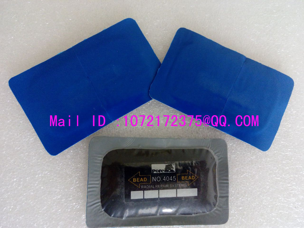 5 pcs 45*75MM USA Style Tubeless Truck Tire Repair Radial Repair Patch / Tyre Repair Cold Rubber Patch(China (Mainland))