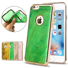 6S Case Luxury Plating Electroplating Soft TPU Mobile Phone Case For iPhone 6 6S 4.7″ Cover Cases For Iphone 6Plus 6s Plus Funda