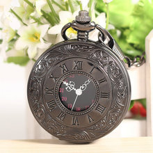 Antique Becatiful Mens Womens Analog Display Quartz Movement Pocket Watch Free Shipping
