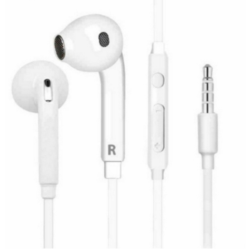 Stereo Headset 3.5mm Wired Earphone Portable Sport Running Stereo Headphone with Mic Remote Control for iPhone 7 Samsung Xiaomi