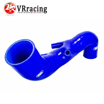VR STORE-Silicone Induction Air Intake Pipe Hose Fit For AUDI TT 225 S3 SEAT LEON R Radiator Silicone hose kit Blue VR-SG3301