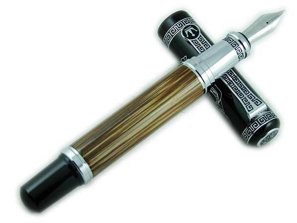 Duke Bamboo Fountain Pen Confucius Commemoration Pattern Rare Collection<br>