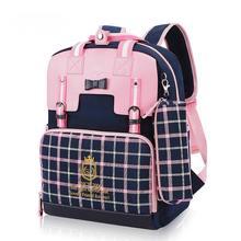 Cute Girls Backpacks Kids Children School Bags For Girls Orthopedic Waterproof Backpack Child School Bag Mochila Escolar(China (Mainland))