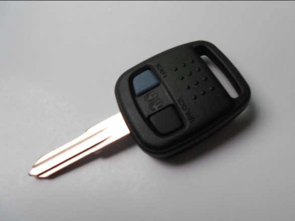 2 Buttons Remote Case Cover Fob Housing Car Key Shell For Nissan Key Blank(China (Mainland))