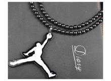 Fashion Colares Bijuterias Luxury Brand Hip Hop Necklace Men Long Chain Basketball Athlete Pendant Necklaces Costume