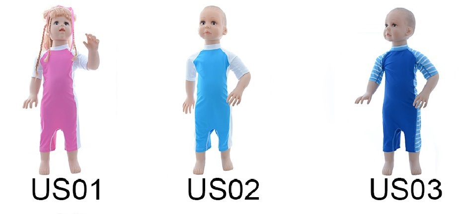 2015 ALVA New Products Sun Protection Baby Suit 10 Sets per Lot Free Shipping(China (Mainland))